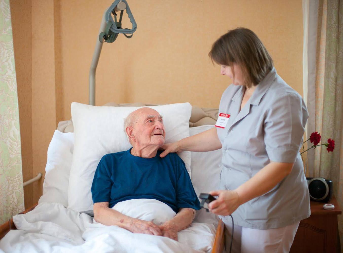 Уход за больными пожилого и старческого возраста