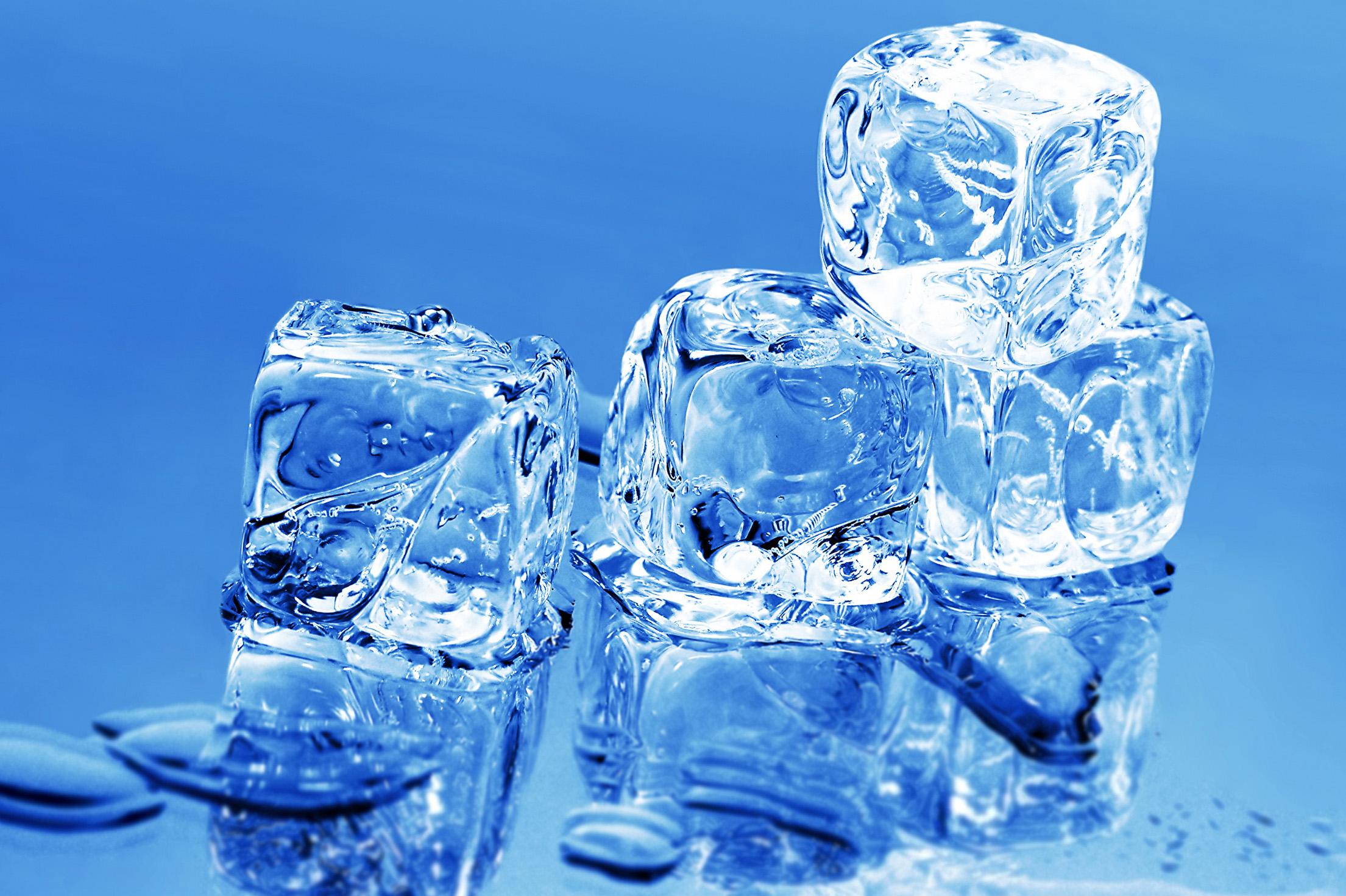 лед и талая вода