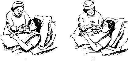 Кормление тяжелобольного
