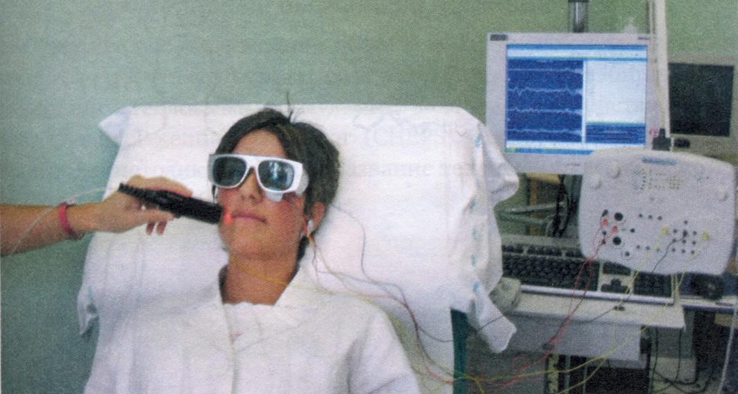 Процедура исследования лазерных вызванных потенциалов