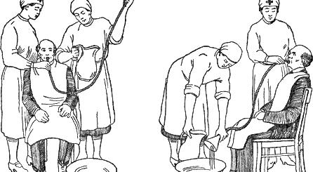 Промывание желудка толстым зондом