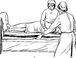 Смена постельного белья продольным способом