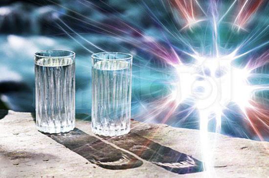 Зарядка воды