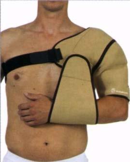 Плечевой мягкий бандаж для средней фиксации плечевого пояса и плечевого сустава у взрослых и детей.