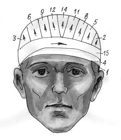 Повязка «шапочка»