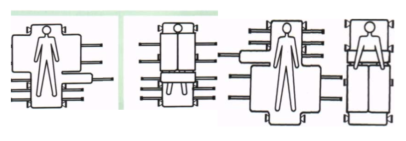 Схема работы вакуумного матраца