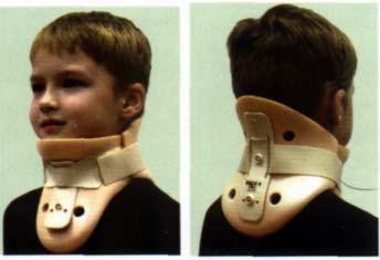 Шина Шанца (ортез) из пенополиуретана для полной фиксации шейного отдела позвоночника у взрослых и детей