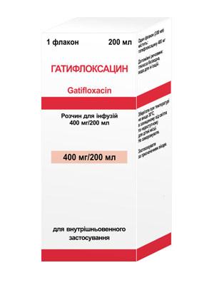 Гатифлоксацин