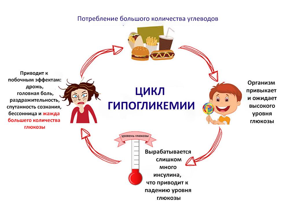 цикл гипогликемии