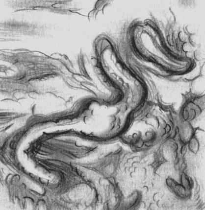 Крапивница. Резкое набухание и растворение периваскулярной аргентофильной мембраны